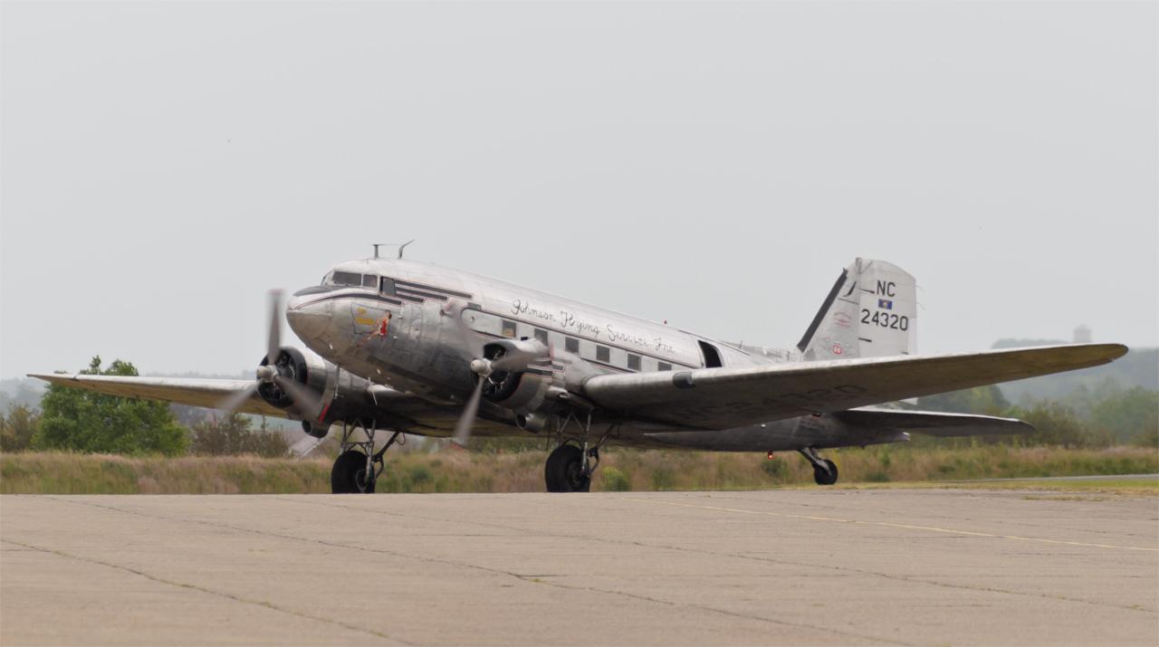 "Daks over Normandy - DC-3 N24320 ""Miss Montana"""